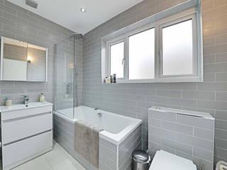 Thornfield Avenue, NW7 Minimalist bathroom by POWER 2 BUILD LTD Minimalist