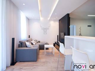 Salon: styl , w kategorii Salon zaprojektowany przez Novi art