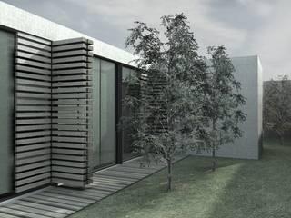 Casas de estilo minimalista de AR arquitectura Minimalista