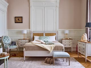 Conexo. Moderne Schlafzimmer Massivholz Pink