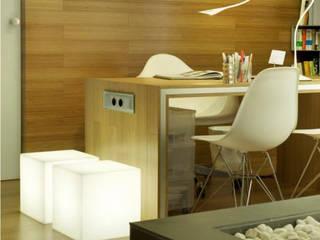 accesorios decoración: Oficinas y Tiendas de estilo  por New Garden Venezuela