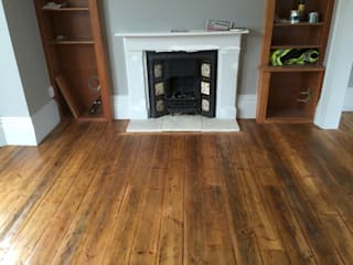 Living room by The British Wood Flooring Company,