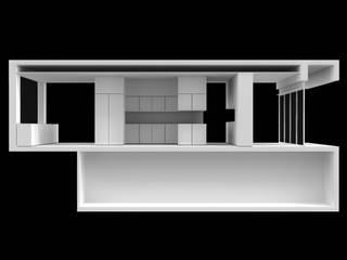 Take-Away na Maia Lojas e Espaços comerciais minimalistas por AR arquitectura Minimalista