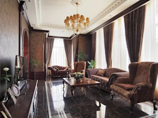 Classic style living room by Студия дизайна интерьера 'Градиз' Classic