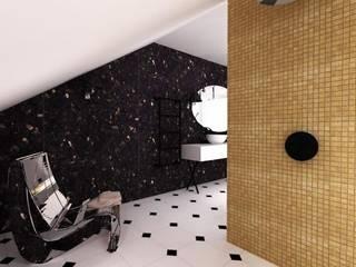 Modern bathroom by R-design Sp. z o.o. Modern