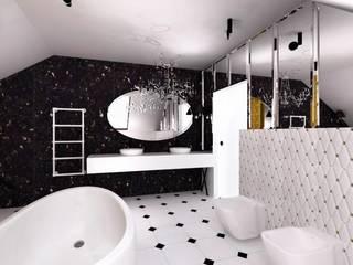 Łazienka: styl , w kategorii Łazienka zaprojektowany przez R-design Sp. z o.o.