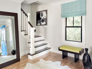 Foyer, Hall & Mudrooms Modern Corridor, Hallway and Staircase by Clean Design Modern
