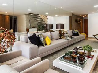 Cris Nunes Arquiteta Living room