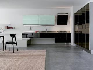 DuraGloss, mucho brillo con la apariencia de la más fina laca Cocinas de estilo moderno de FORMICA Venezuela Moderno
