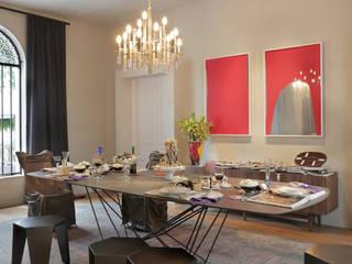 Sala de Jantar Ovoo Salas de jantar modernas por Gisele Taranto Arquitetura Moderno