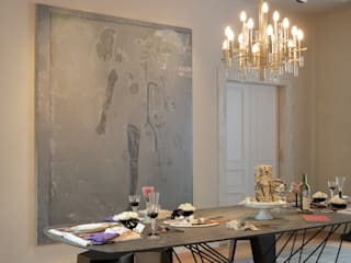 Dining room by Gisele Taranto Arquitetura,