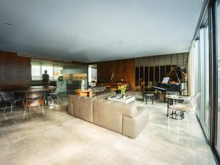 Salon de style  par pmasceroarquitectura, Moderne