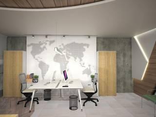 Рабочий кабинет в стиле модерн от Murat Aksel Architecture Модерн