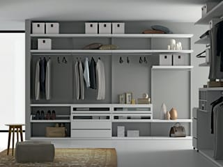Project walk-in closet od Dall'Agnese Nowoczesny