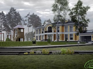 Maisons classiques par Компания архитекторов Латышевых 'Мечты сбываются' Classique