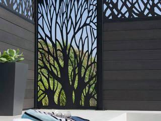 NATUREL METAL FERFORJE Giardino moderno Ferro / Acciaio Nero