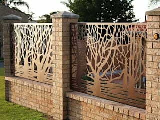 Modern style gardens by homify Modern Iron/Steel