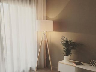 salon:  de estilo  de Arquitecta interiores Ana Serrano