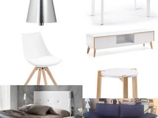 mobiliario:  de estilo  de Arquitecta interiores Ana Serrano