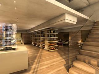 Ingresso: Gastronomia in stile  di studio associato AtelierArchitettura