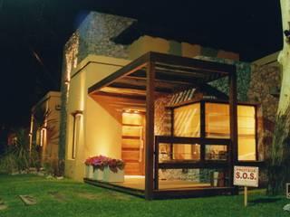 Casa en Valeria del Mar: Casas de estilo moderno por Diego Porto Arquitecto