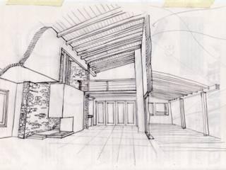 Casa en Valeria del Mar: Livings de estilo moderno por Diego Porto Arquitecto
