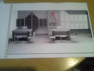 DEKOREVİ İÇ MİMARİ İNŞAAT TURİZM SAN. VE TİC. LTD. ŞTİ. – ofis mobilya tasarım:  tarz