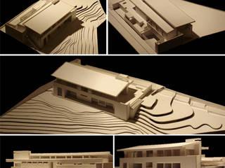 Casa en Concepcion - Chile: Casas de estilo moderno por Diego Porto Arquitecto