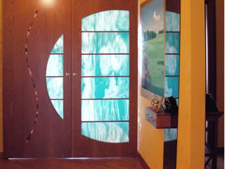 Corridor & hallway by Studio di Architettura e Design Giovanni Scopece, Modern