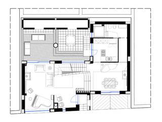 villa 2 - Orta Nova (FG):  in stile  di Studio di Architettura e Design Giovanni Scopece,