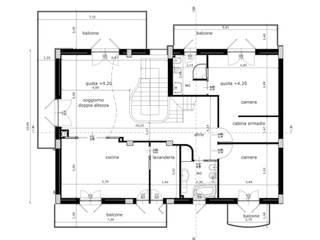 Villa 3 - Orta Nova (FG):  in stile  di Studio di Architettura e Design Giovanni Scopece,