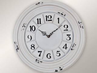 Otantik Çarşı – Eskitme Duvar Saati 10 40 cm:  tarz
