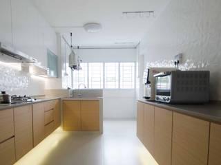 Potong Pasir Renovation:  Kitchen by Designer House,Minimalist