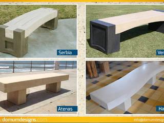 Bancas Domum Albercas Concreto