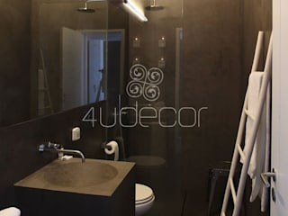 4Udecor Microcimento BathroomDecoration Black