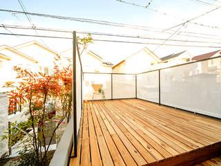 本浦の家 オリジナルデザインの テラス の SWITCH&Co. オリジナル