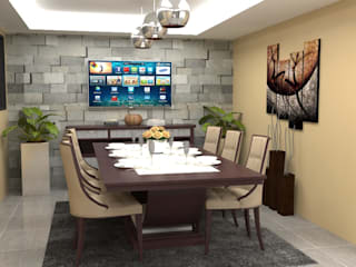Dining room by Atahualpa 3D