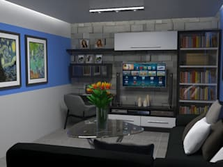 Living room by Atahualpa 3D