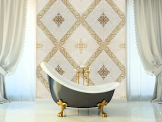 Modern style bathrooms by Elalux Tile Modern