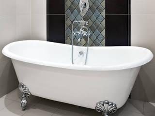 Elalux Tile Baños modernos Azulejos Metálico/Plateado