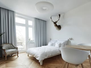 Minimalist bedroom by BLACKHAUS Minimalist