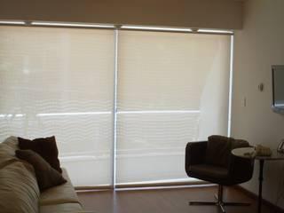 Limpieza de cortinas roller de DV arquitectura Clásico