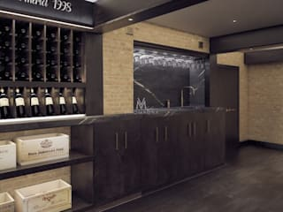 Wine cellar by Vinomagna - Bespoke Wine cellars
