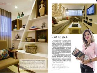 Гостиная в . Автор – Cris Nunes Arquiteta,