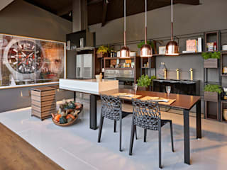 titulo provisório: Salas de jantar  por MARCOS DE PAULA ARQUITETURA E INTERIORES,Moderno