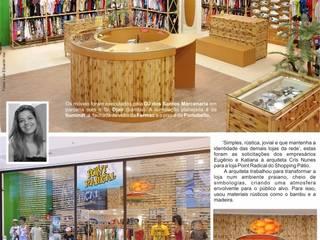 Cris Nunes Arquiteta Office spaces & stores