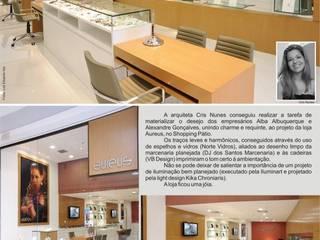 Cris Nunes Arquiteta Classic style study/office