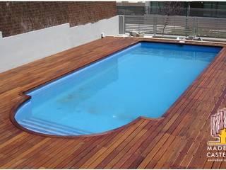 Modern Pool by Maderas Castellar Modern