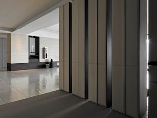 Corridor, hallway by 水相設計 Waterfrom Design,