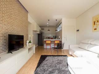 Alkaa Arquitetos Associados ห้องครัว White